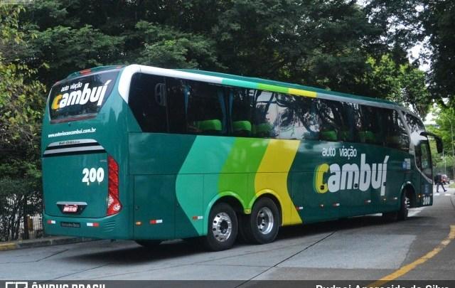 Auto Viação Cambuí adota nova identidade visual em quase toda sua frota