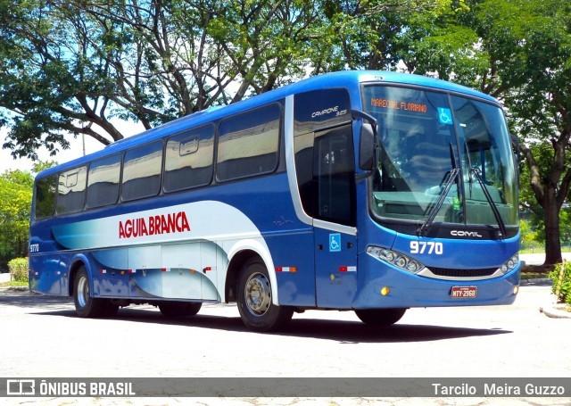 Viação Aguia Branca escala ônibus Comil no Espírito Santo