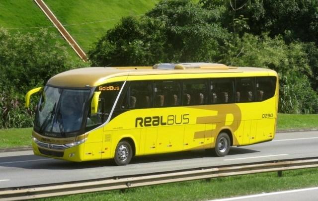 Expresso Real Bus renova com dois ônibus de motor dianteiro e muda identidade visual