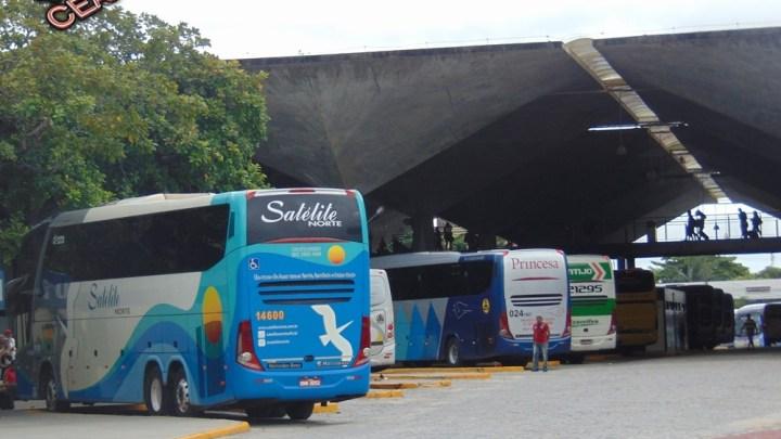 CE: Arce e Detran fiscalizam veículos na Rodoviária de Fortaleza