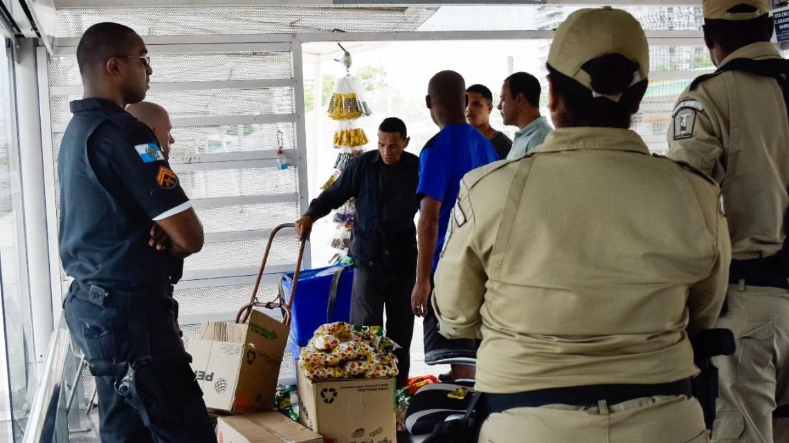 Rio: Estações e terminais do BRT recebem reforço na segurança