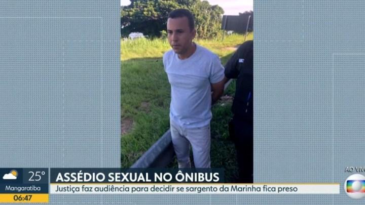 Rio: Sargento da Marinha suspeito de assédio sexual em ônibus tem prisão preventiva decretada