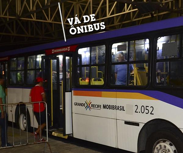 PE: Reforço de frota e mudança de itinerário dos ônibus para Virgens do Bairro Novo e Olinda Beer