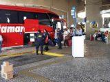 SP: Rodoviária de São Carlos tem operação de fiscalização conjunto da PM e Guarda Municipal