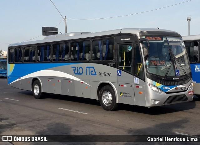 RJ: Vídeo mostra ônibus da Rio Ita quase tomba deixando feridos na Rodovia Magé x Manilha