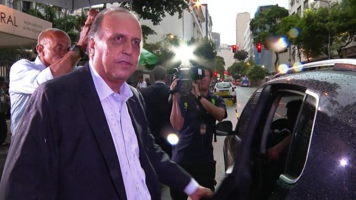 Rio: Delator diz que Pezão ficava preocupado em andar com tanto dinheiro
