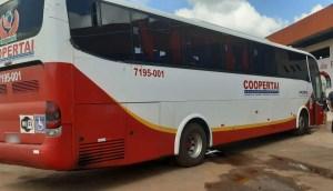 MG: Polícia Militar Rodoviária apreende ônibus por transporte ilegal de passageiros na BR-146