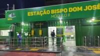 Pela segunda, vez estação de ônibus é vandalizada em menos de um mês em Cuiabá