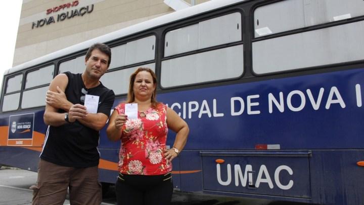 RJ: Ônibus da Saúde de Nova Iguaçu imuniza população contra o sarampo