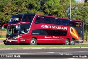 Paraguai: Ônibus vindo do Brasil tenta escapar de fiscalização e acaba barrado