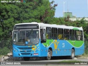 ES: Motorista fica ferido durante um assalto a ônibus na Serra neste domingo