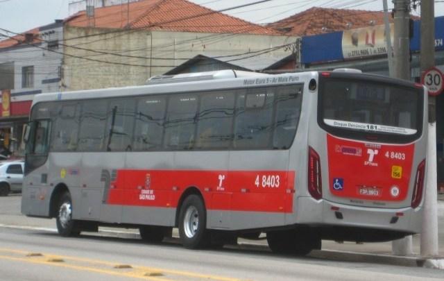 Prefeitura de São Paulo informa que fará ajuste na frota de ônibus a partir desta segunda-feira