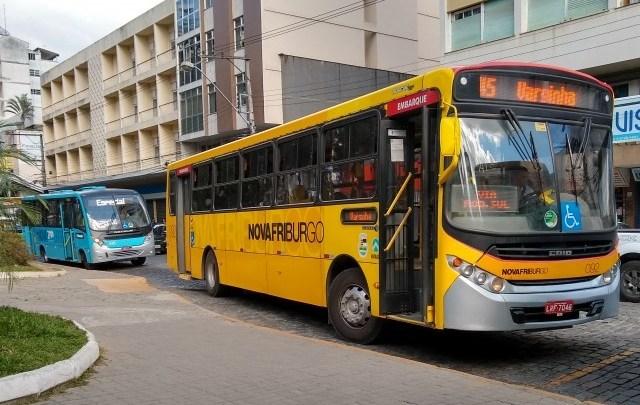 RJ: Prefeitura de Nova Friburgo informa que decreto seguiu errado e que ônibus aceitarão cartão e dinheiro