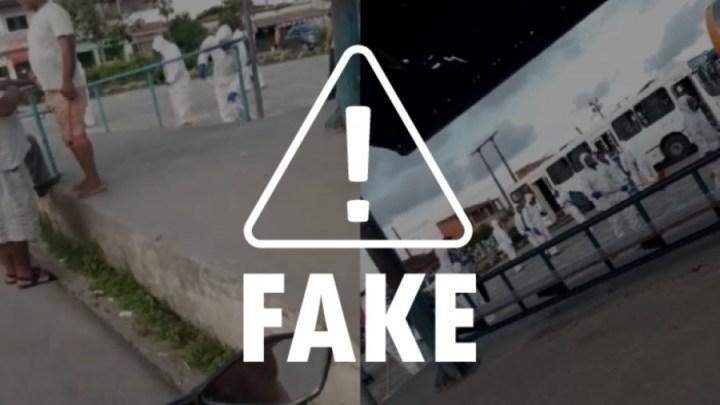 Maceió: É falsa informação em vídeo sobre suposta infecção no Terminal do Colibri