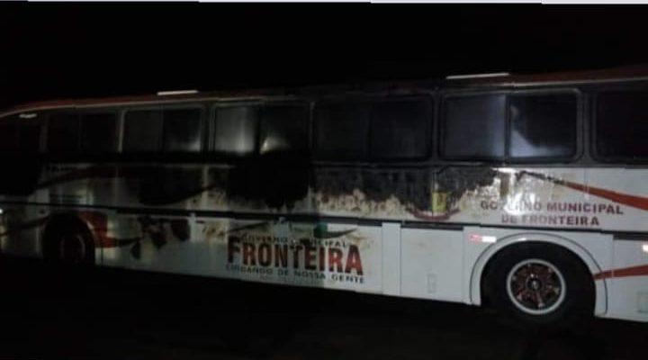 MG: Ônibus da Prefeitura de Fronteira são incendiados neste fim de semana