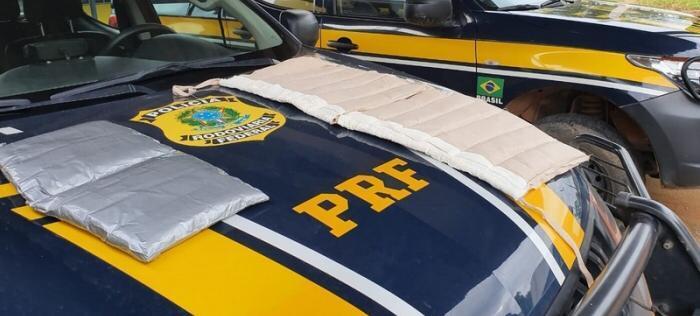 RO: PRF prende passageiro de ônibus por tráfico de drogas