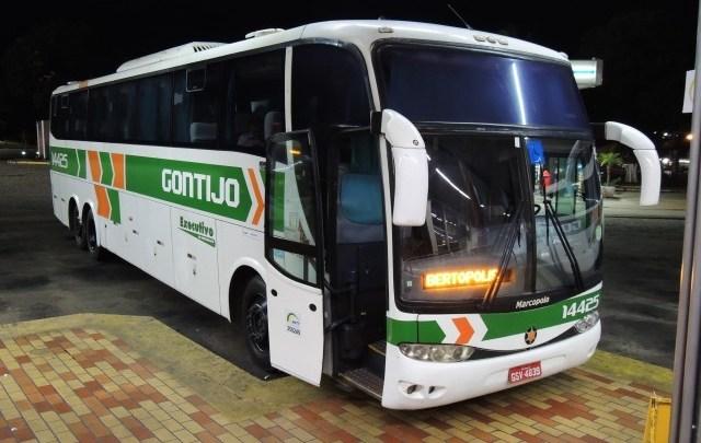 MG: Ônibus da Gontijo é assaltado na BR-452 na região de Uberlândia