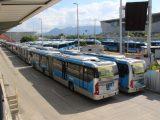 Rio: Forças Armadas fazem desinfecção em três terminais do BRT neste sábado
