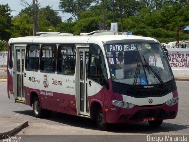 PA: Micro-ônibus pega fogo nesta manhã em Belém