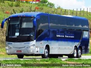 BA: Ônibus da Edson Turismo acaba apreendido no município de Valente por não respeitar o decreto do governo baiano