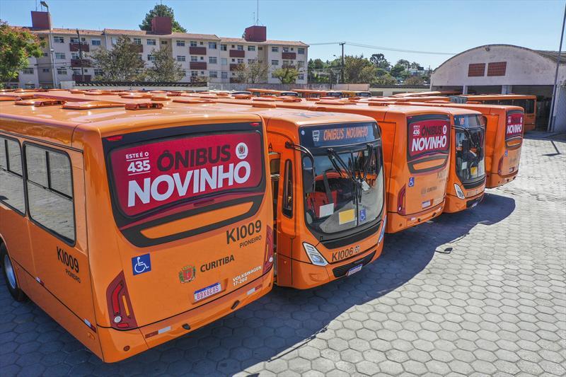 Curitiba supera meta e alcança a marca recorde de 514 novos ônibus
