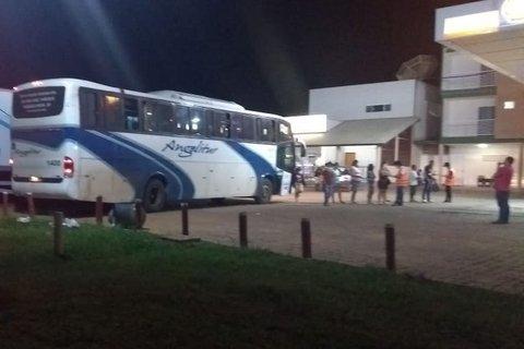 BA: Polícia apreende ônibus  na Chapada Diamantina vindo de São Paulo