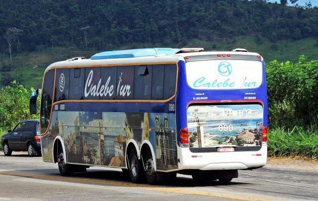 Polícia apreende mais um ônibus por transporte clandestino de passageiros no interior da Bahia
