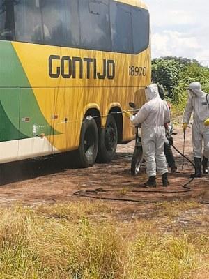 Governo do Paraíba realiza barreiras sanitárias para tentar conter o coronavírus