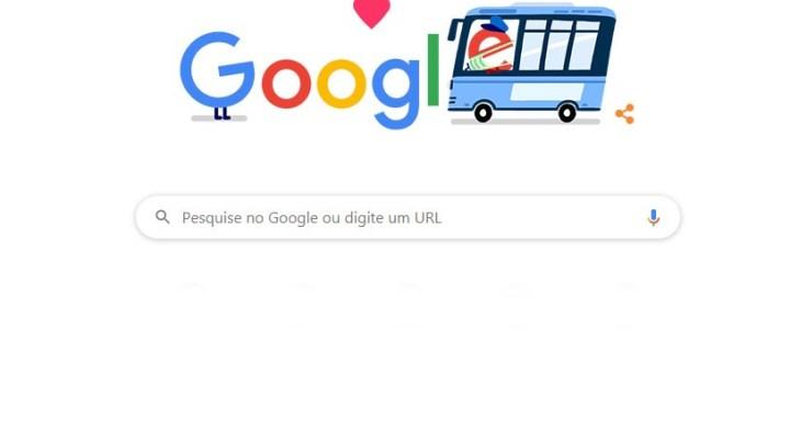 Google faz homenagem aos profissionais do transporte