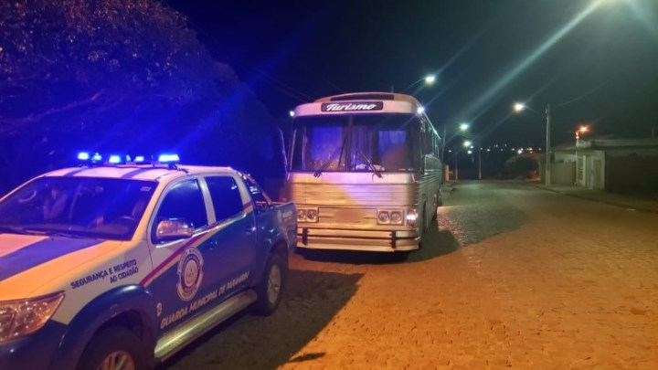 BA: Ônibus pirata é apreendido no interior da Bahia nesta sexta-feira