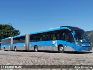 Rio: Exército faz ação de desinfecção na estação BRT Vila Militar