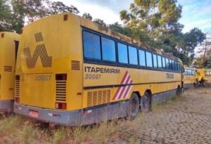 Viação Itapemirim segue com leilão de imóveis e ônibus sucateados em julho e agosto