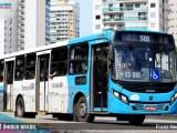 Grande Vitória: Homem invade terminal de ônibus com foice e acaba preso após ameaçar passageiros