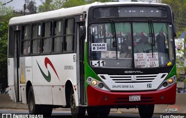"""Paraguai autoriza a circulação de ônibus no esquema de """"quarentena inteligente"""""""