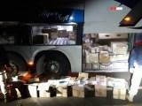 MT: PRF apreende tabaco de origem paraguaia em ônibus na BR-364