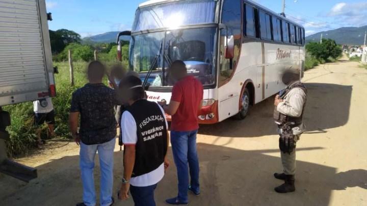 BA: Polícia apreende mais um ônibus clandestino em Jequié