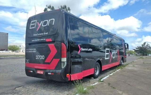 ANTT apreende ônibus pirata com pneu estourado no interior do Piauí