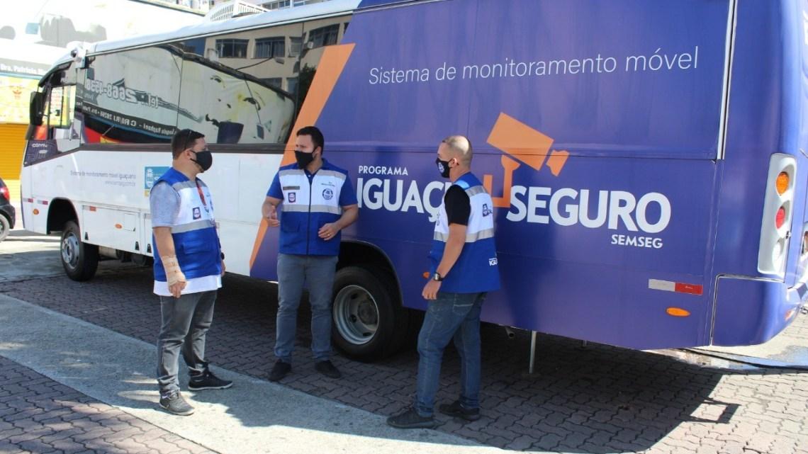 RJ: Nova Iguaçu utiliza ônibus para o programa Iguaçu Mais Seguro