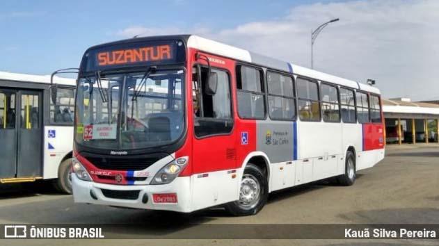 SP: São Carlos contará com mais ônibus da Suzantur em horários de pico