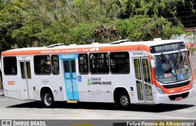 PB: Liminar proíbe paralisação total de ônibus em Campina Grande
