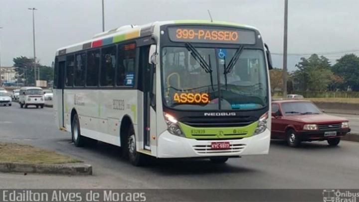 Rio: Assaltos a ônibus nas linhas 399 e 945 assustam passageiros
