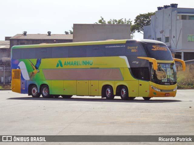 Viação Amarelinho amplia sua frota com ônibus da Severo Turismo