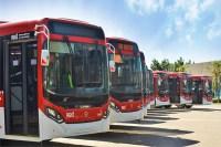 Caio entrega 355 novos ônibus para o Chile em parceria com a Scania