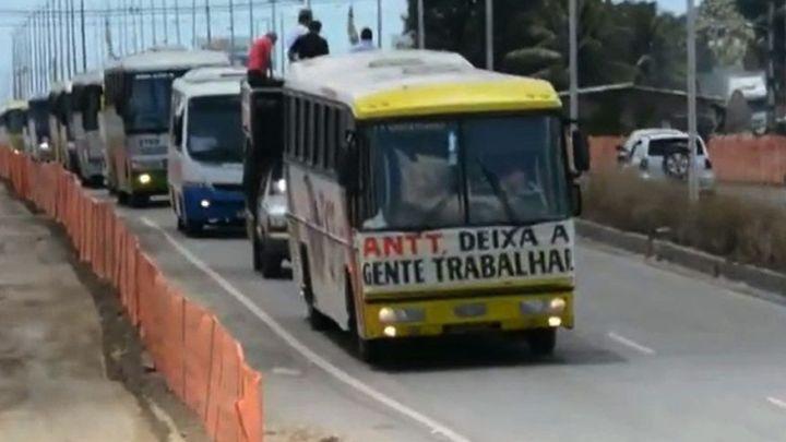 João Pessoa: Funcionários do turismo e fretamento realizam protesto nesta segunda-feira