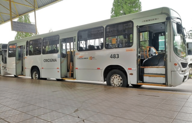 SC: Ônibus voltam a circular em Criciúma a partir desta segunda-feira