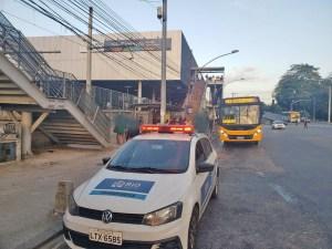 Prefeitura do Rio realiza nova operação para verificar marcações no piso dos ônibus