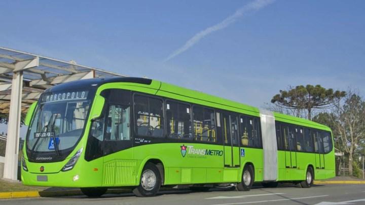 Marcopolo e Volvo fornecem ônibus articulados para o Transmetro da Guatemala
