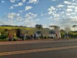 PR: Acidente com ônibus na BR-369 deixa três feridos nesta segunda-feira