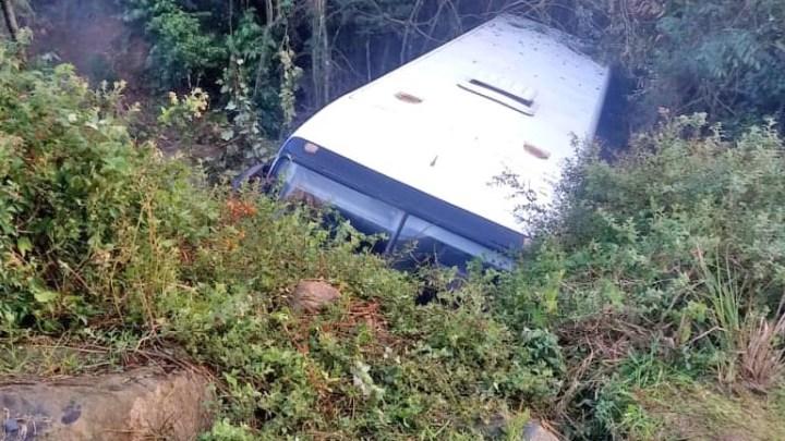 RS: Acidente com ônibus deixa sete feridos em Bento Gonçalves