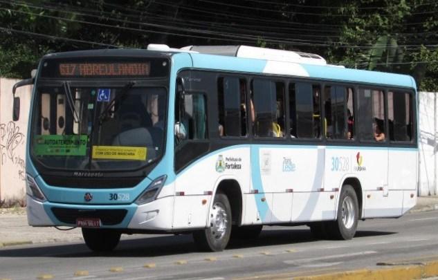 Fortaleza: Passageiro de ônibus acaba matando marginal em assalto no Bairro Aerolândia